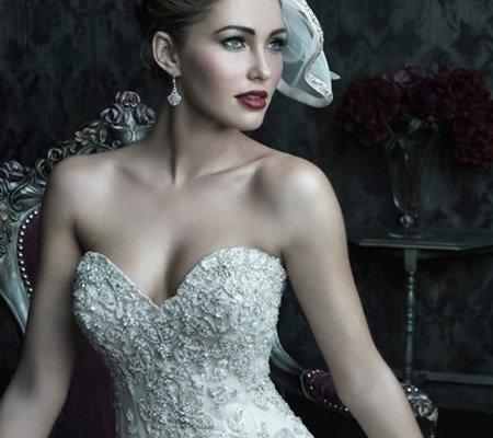 abito da sposa con corpetto e cristalli - Daniele Panareo fotografo Matrimonio Lecce