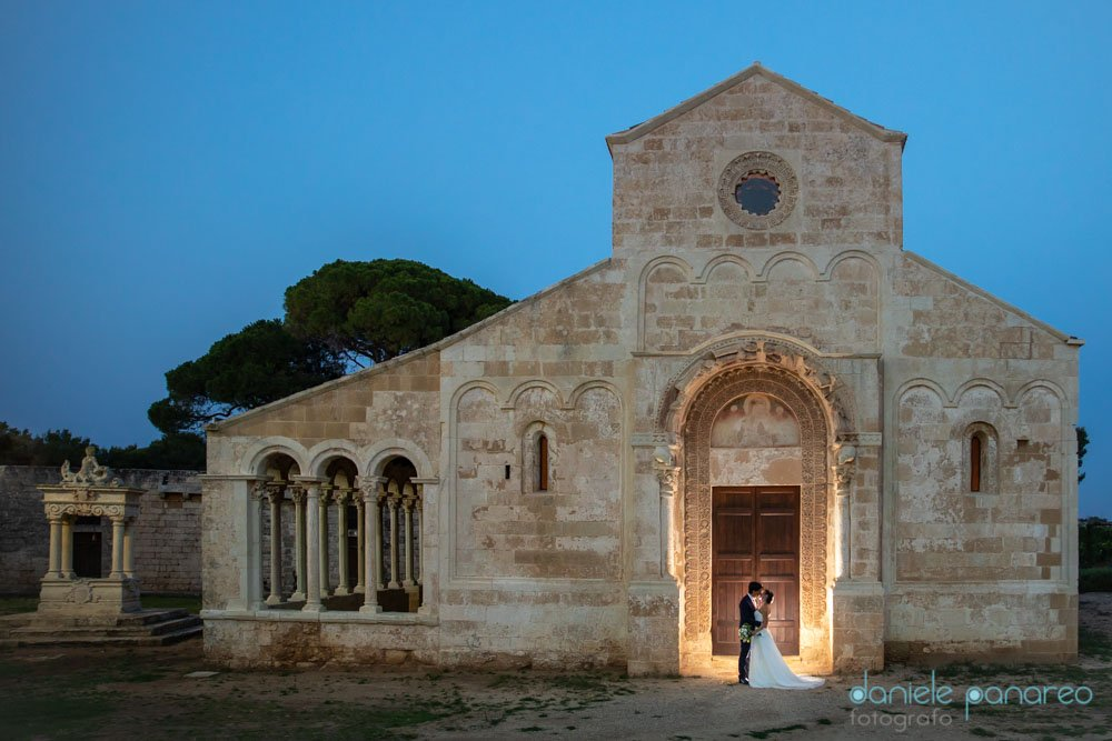 il flash e il wedding destination. Abazia di Cerrate